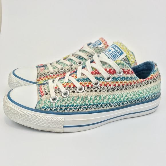 10a7488fc95c Converse Shoes - Converse All Star Knit Multi-Color Shoes Size 7